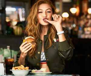 food and gigi hadid image