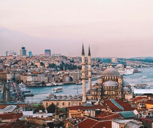 city, istanbul, and love image