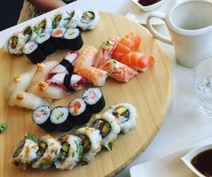 food, hungry, and maki image