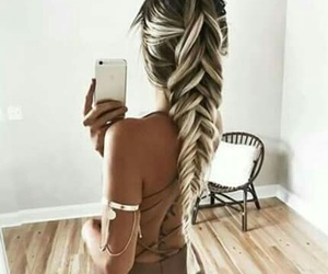 beautiful, ombre, and beauty image