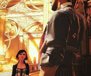 bioshock, bioshock infinite, and zachary hale comstock image