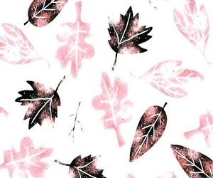 wallpaper, pink, and autumn image