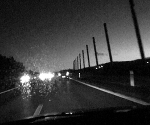 drive and night image