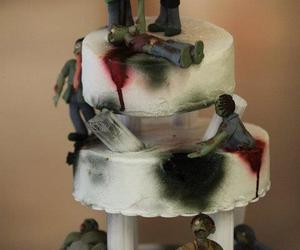 cake and zombie image