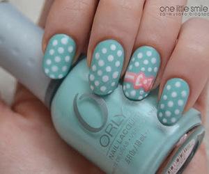 nails, dots, and green image