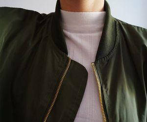 fashion, green, and jacket image