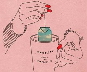 varsity, tea, and music image