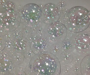 bubbles, pale, and grunge image