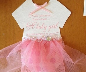 baby, shower, and diy image