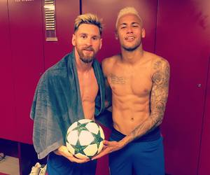 neymar jr, lionel messi, and messi image
