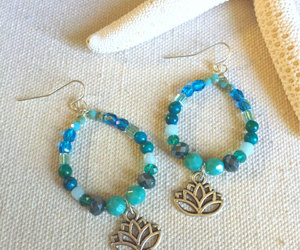 etsy, peace jewelry, and yoga jewelry image