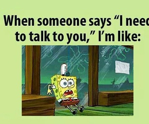 funny, spongebob, and talk image
