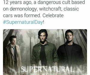 11 years, misha collins, and supernatural day image