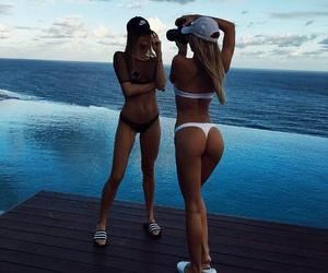 beach, bikini, and photoshoot image