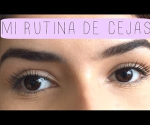 beauty, beauty face, and cejas perfectas image