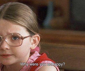 unhappy, little miss sunshine, and sad image