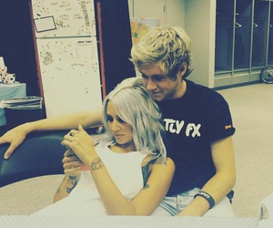 niall horan, lou teasdale, and one direction image