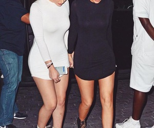 kylie jenner, friends, and black image