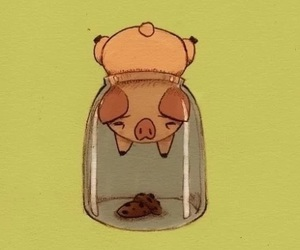 piggy, cute, and funny image
