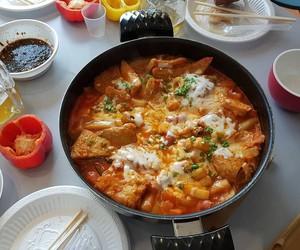 chinese food, korean food, and food image