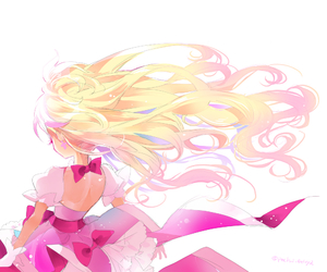 anime girl and pretty cure image