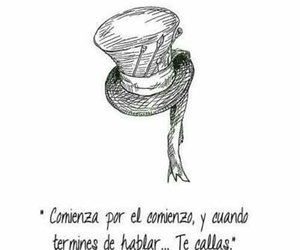 frases, callas, and sombrerero image