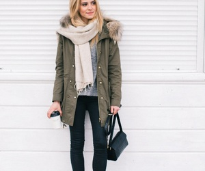 outfit, winter, and fall image