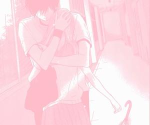 couples, hug, and kawaii image