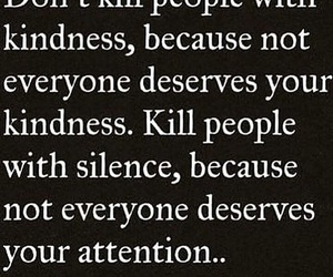 attention, silence, and kindness image