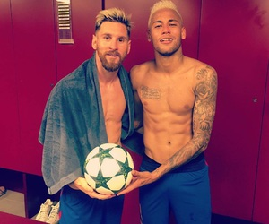 neymar jr, lionel messi, and messi image