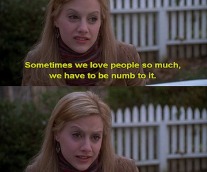 brittany murphy, love, and quote image