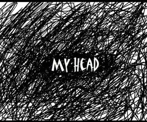 head, my head, and quotes image