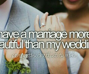 wedding, marriage, and before i die image