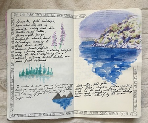 art, journaling, and art journal image