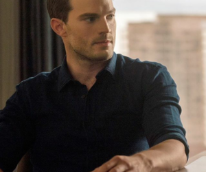 christian grey, fifty shades of grey, and fifty shades darker image