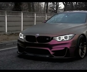 bmw, purple, and m4 image