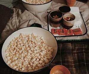 autumn and popcorn image