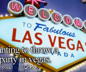 party, fun, and vegas image