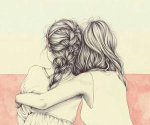 arte, abrazos, and amigas image