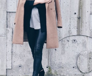 black boots, fashion, and nice blouse image