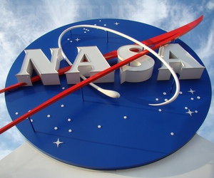 nasa, blue, and space image