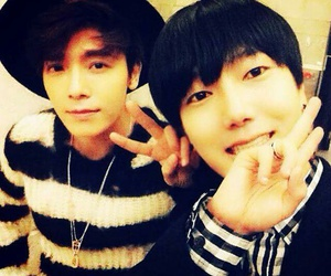 super junior, yesung, and donghae image
