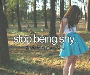 shy, stop, and bucket list image