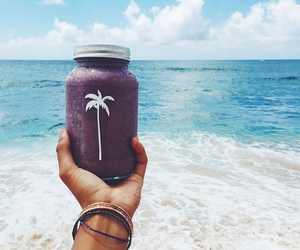 ocean, smoothie, and view image