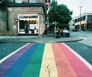 street and lgbt image