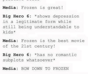 frozen, disney, and funny image