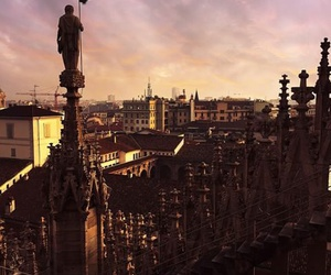 milan and sunsest image