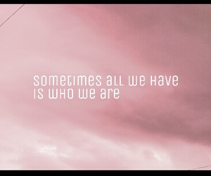 pink, quotes, and sometimes image