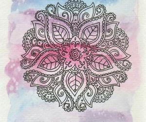 mandala, art, and beautiful image