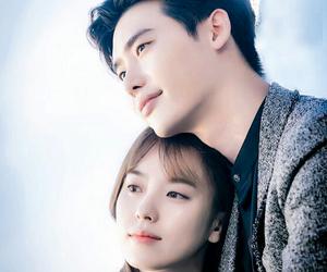 kdrama, w, and lee jong suk image